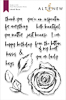 Inked Rose Stamp Set
