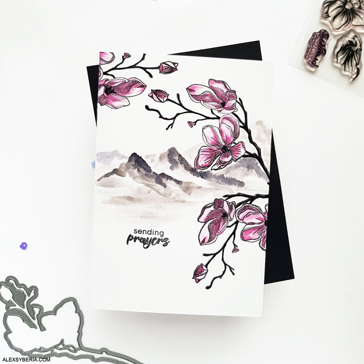 altenew-dotted-blooms-alexsyberia-cards