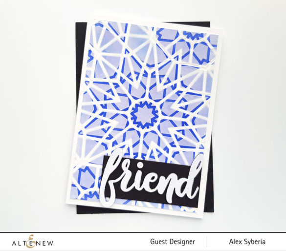 altenew-embossing-paste-kaleidoscope-stencil-alexsyberia-cards