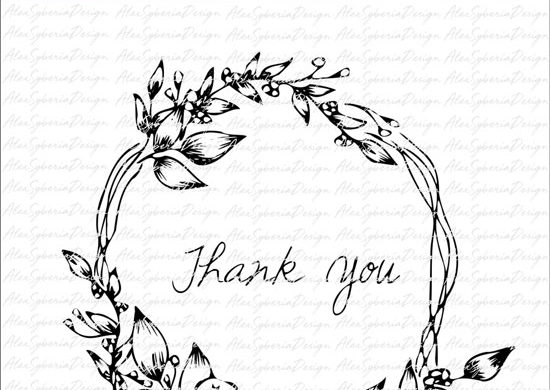 etsy-Wreath-thankyou-alexsyberiadesign-digi-stamps