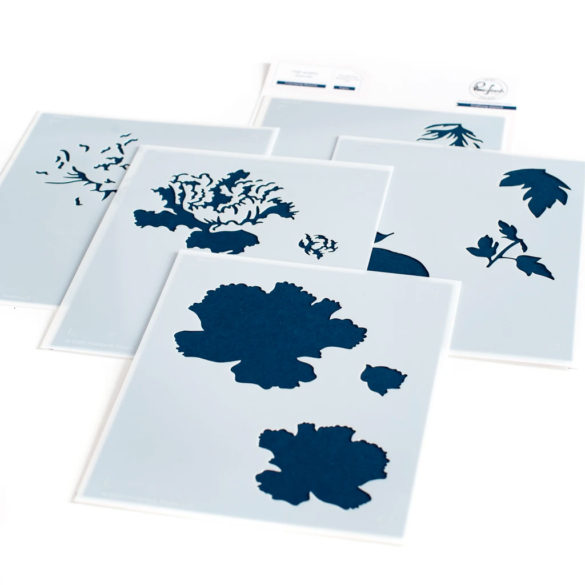 FRIENDSHIP BLOOMS LAYERING STENCIL SET